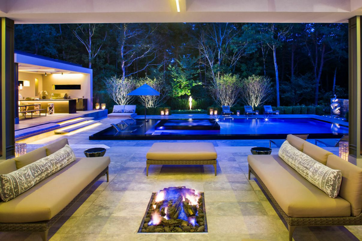 Contemporary Gem Wainscott South in New York for Sale at $9.3 Million
