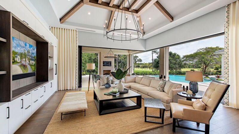 Interior Design Ideas of Coquina Home by Marc-Michaels Interior Design