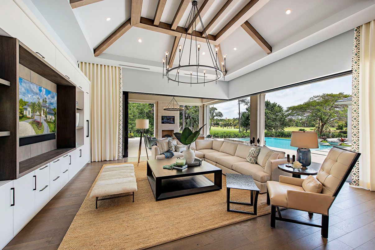 Interior Design Ideas of Coquina Home by Marc-Michaels Interior Design
