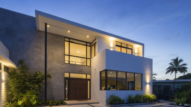 Lake Front Residence in North Miami Beach by SDH Studio Architecture + Design