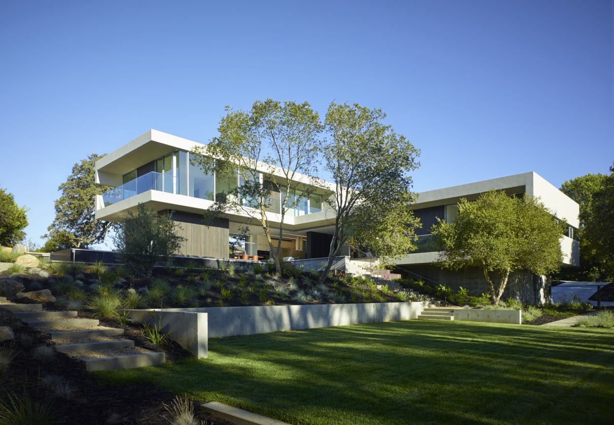 Los Altos Hills Residence, California by Feldman Architecture