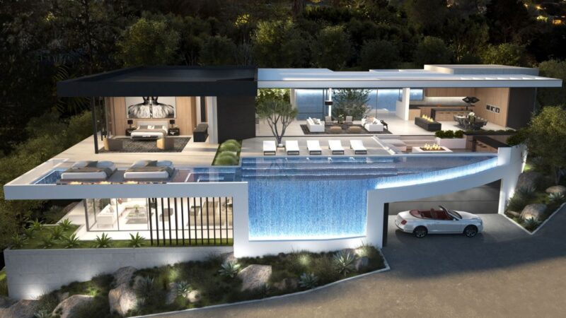Los Angeles's Blue Jay Residence Concept by IR Architects