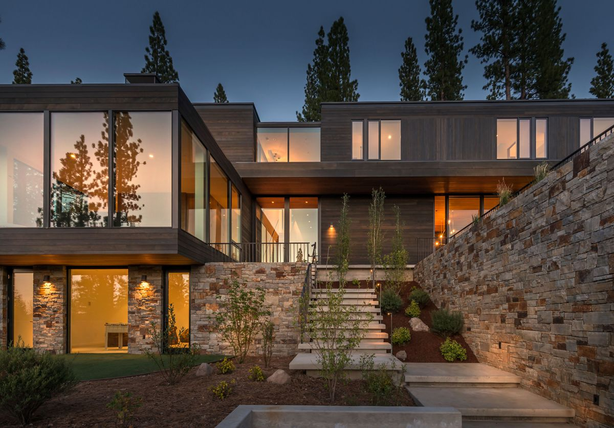 Martis Camp 506 Residence in Truckee, California by Blaze Makoid Architecture, modern home