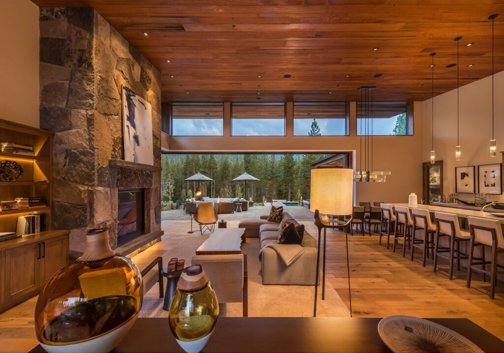Martis Camps Residence 656 in Truckee, CA by Ryan Group Architects