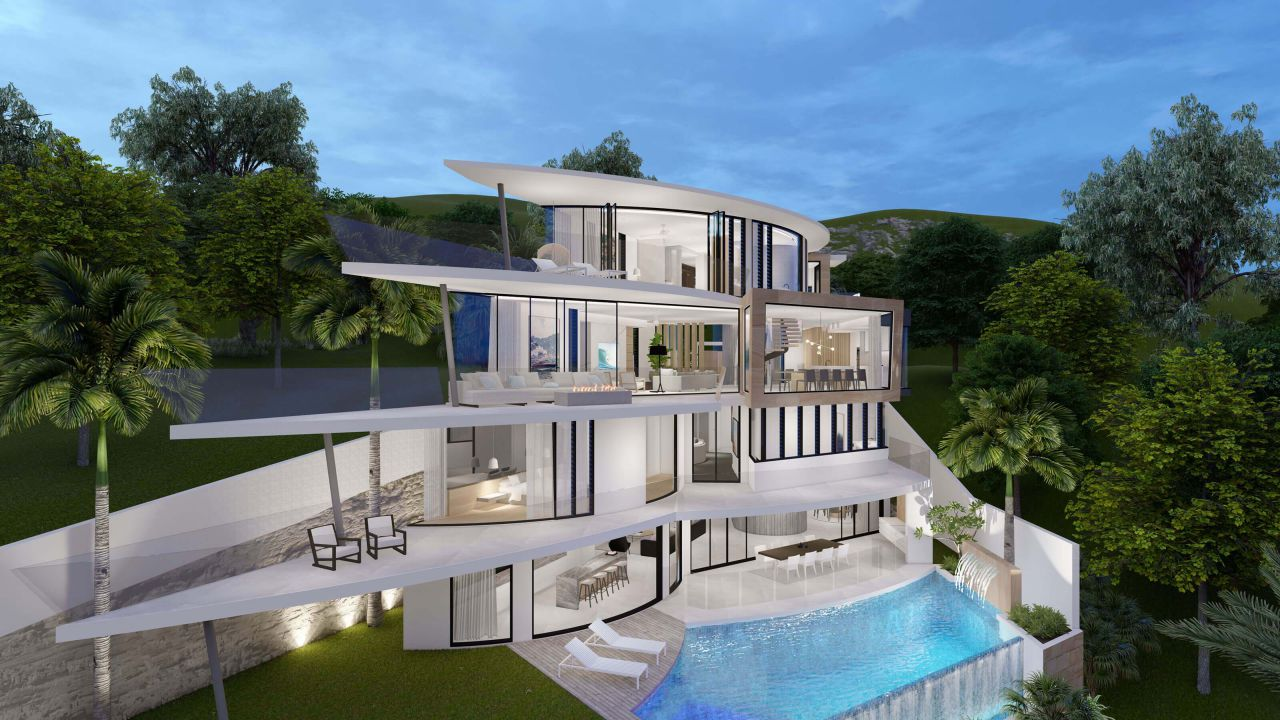 Northern Beaches Residence Concept by Paul Clout Design in Australia