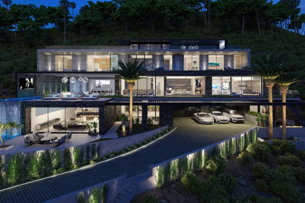 Nottingham Modern Home Concept, Los Angeles by Bowery Design Group