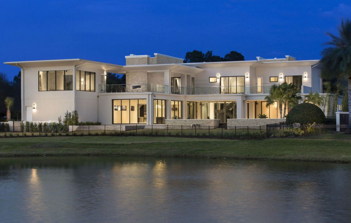 Red8 Custom Residence in Orlando, Florida by Phil Kean Design Group