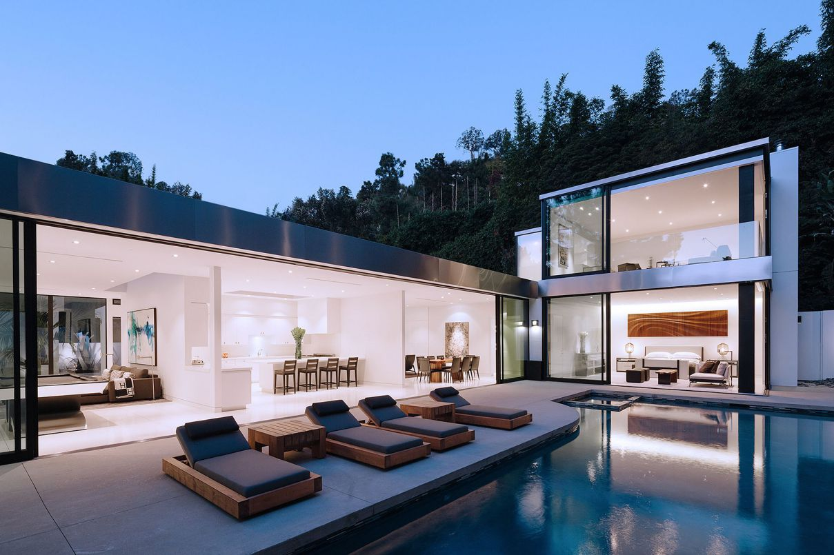 Rising Glen Residence in Los Angeles by Belzberg Architects