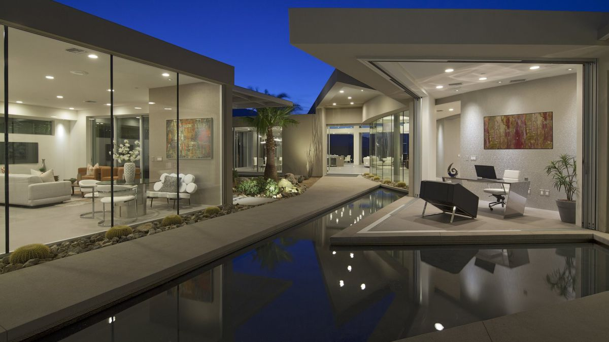 Rockcrest Residence in Rancho Mirage by Brian Foster Designs