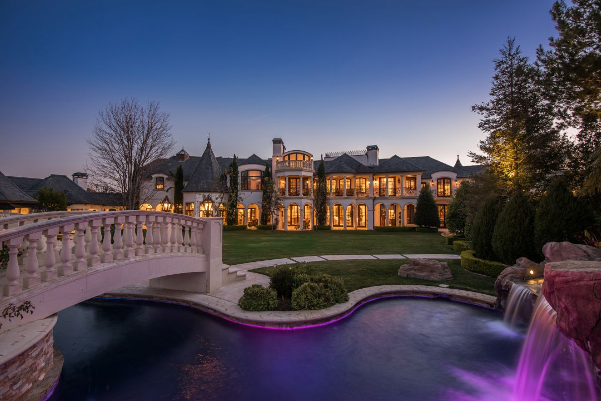 Spectacular Classic French Chateau in Calabasas, CA for Sale