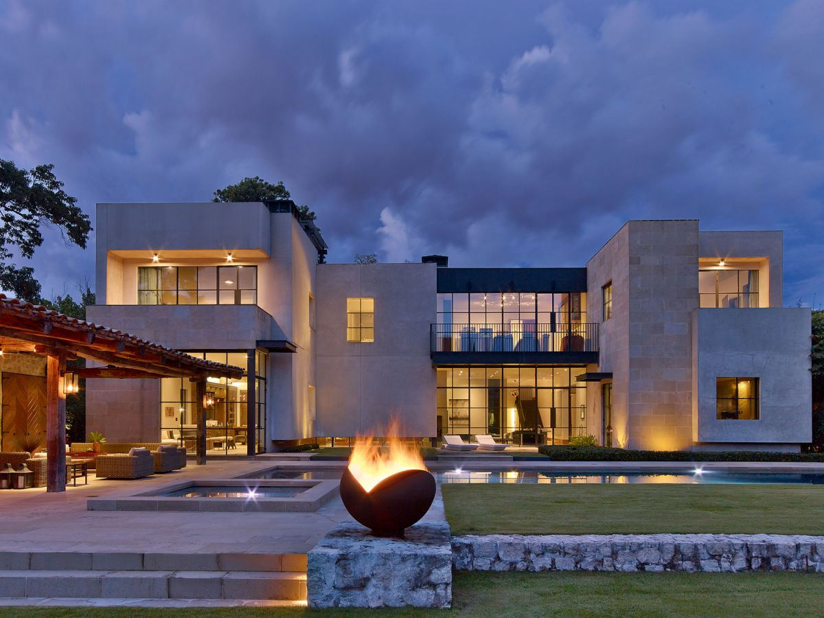 Stolle Residence in Houston, Texas by Rottet Studio Architecture and Design