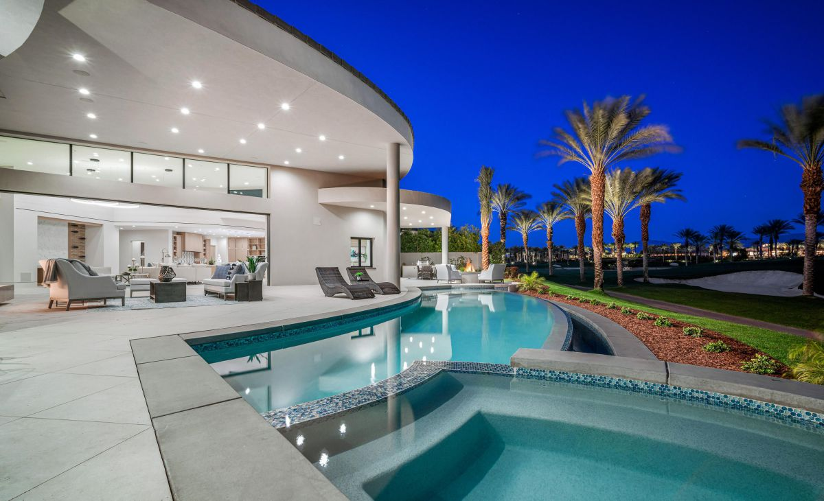 Via Siena Modern Home in Indian Wells, California for Sale