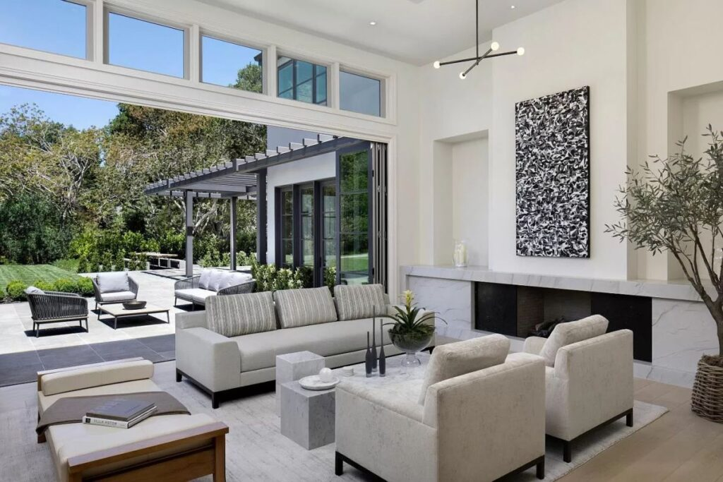 Sophisticated Atherton New Construction hits the Market