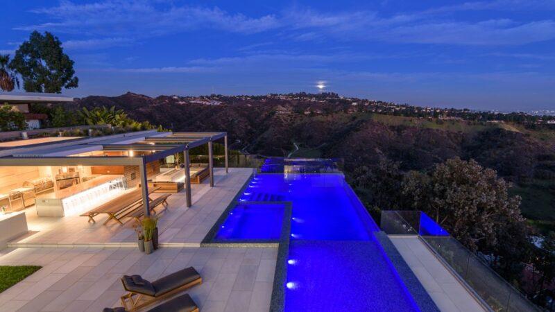 $44.5 Million Brand New Beverly Hills Modern Compound hit the Market