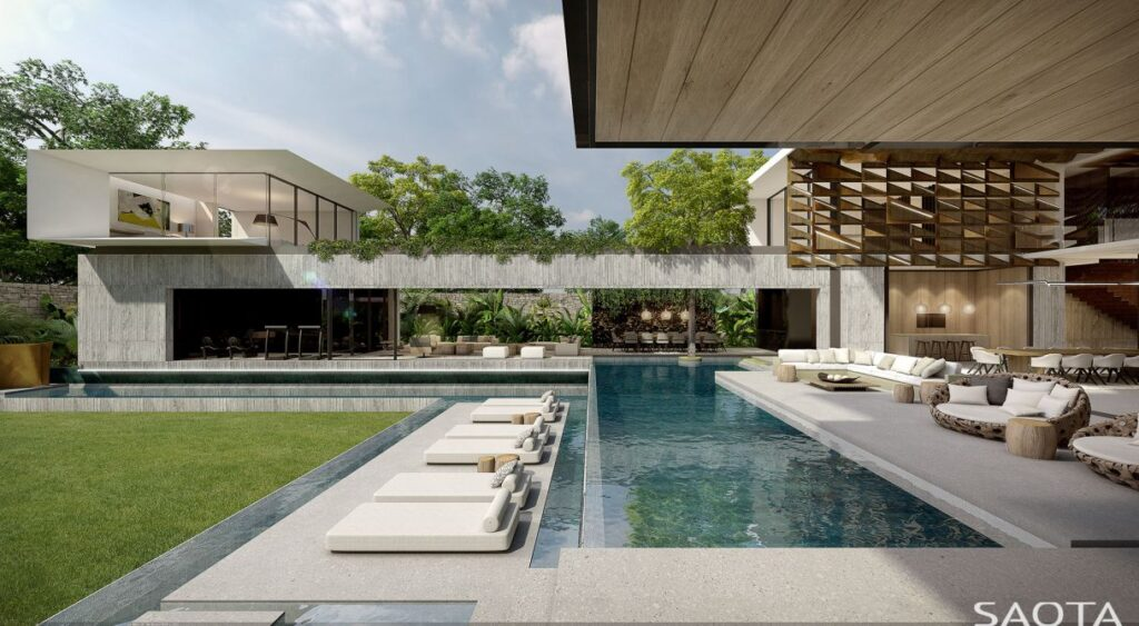 Accra Link Residence Concept by SAOTA in Ghana