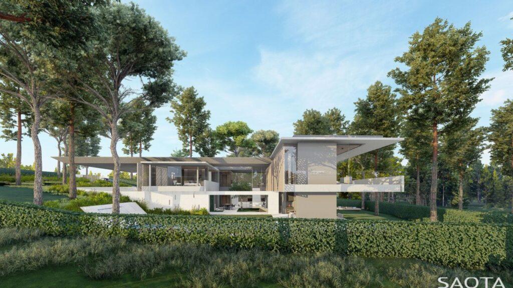 Aroeira Modern Villa Concept in Setubal, Portugal by SAOTA