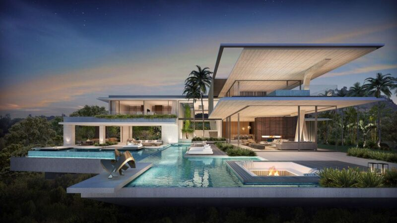 Bellagio Residence Concept, Los Angeles by SAOTA