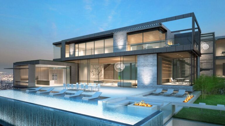 Bellagio Way Residence Concept, Los Angeles by Shubin Donaldson
