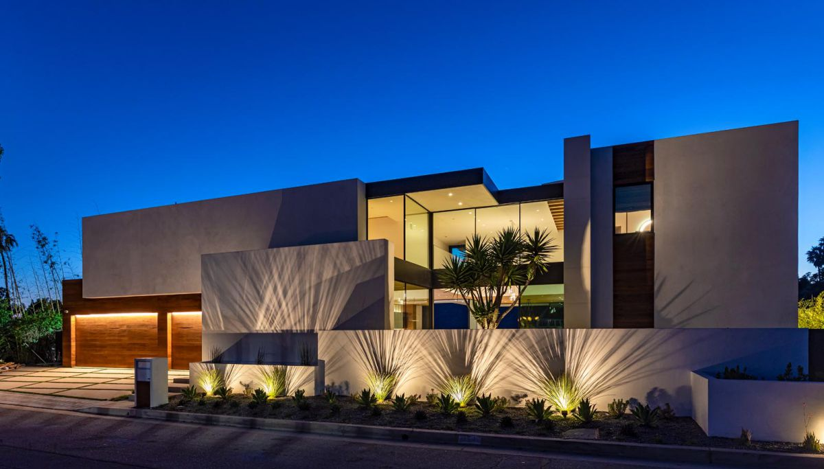 Brand New Contemporary Bel Air Custom Home hit Market for $15 Million