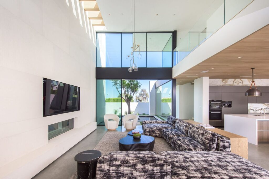 Brand New Contemporary Bel Air Custom Home hit Market
