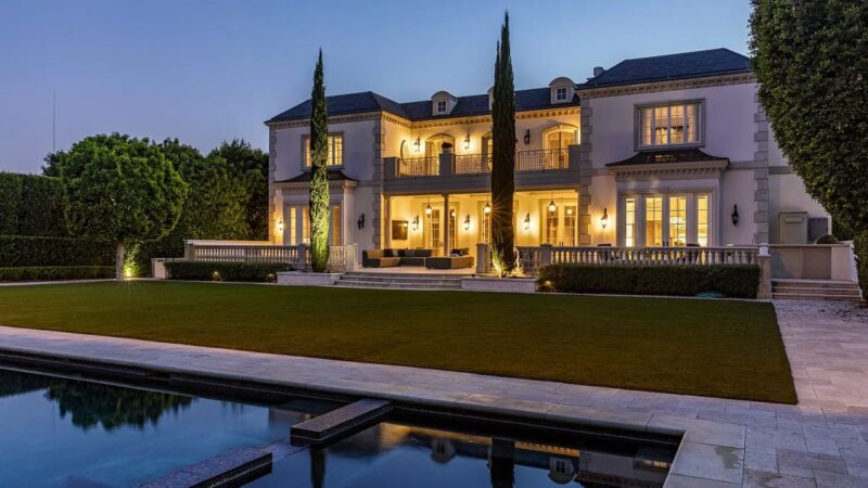 Classically Styled European Estate in Beverly Hills on Market for $26 Million