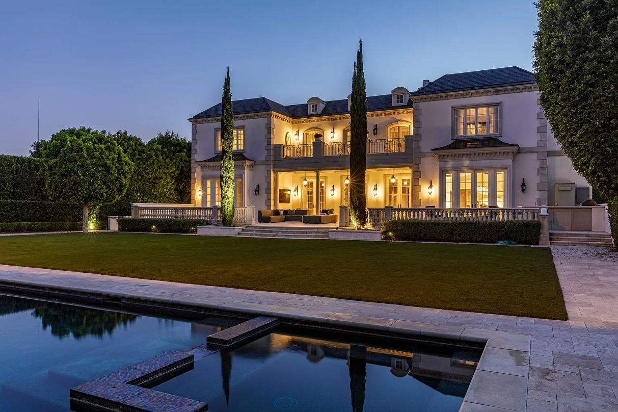 Classically Styled European Estate in Beverly Hills on Market