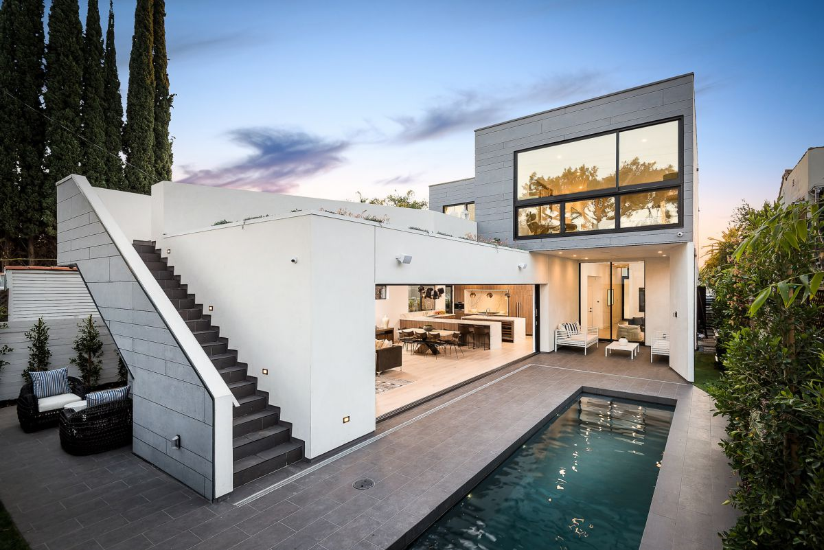 Croft Residence in Los Angeles by AUX Architecture