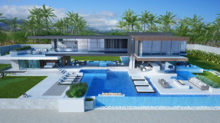 Cutting-edge Estate Concept, Big Island, Hawaii by CLR Design Group