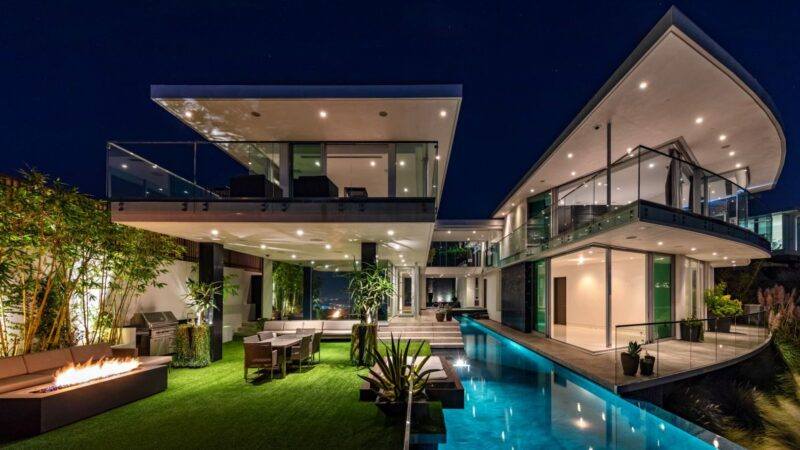 DJ Avicii Hollywood Home in Los Angeles by McClean Design