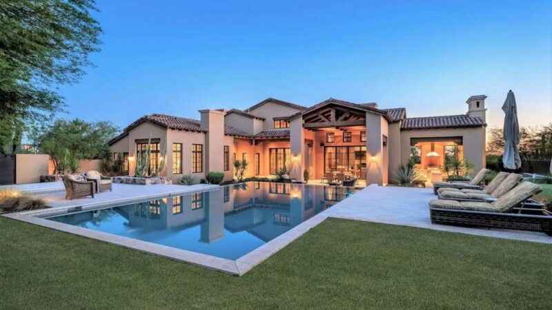 East Siesta Spanish Home in Scottsdale, Arizona for Sale at $4.4 Million