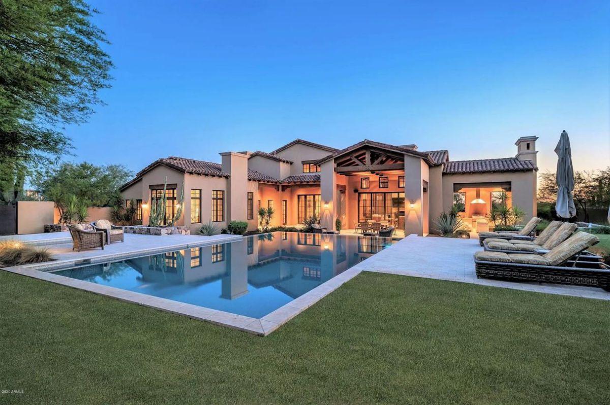East Siesta Spanish Home in Scottsdale, Arizona for Sale