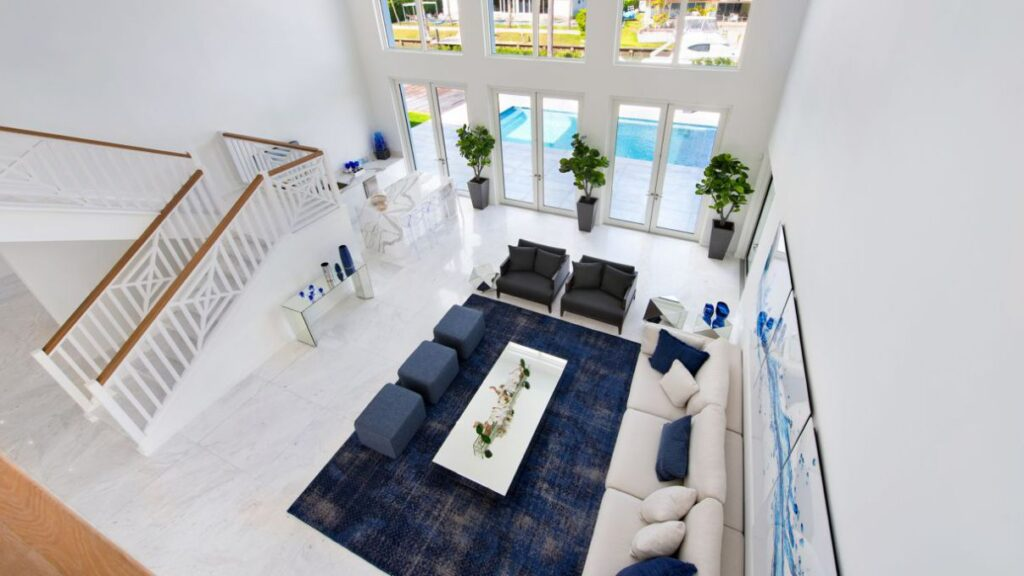 Fabulous Buttonwood Modern Waterfront Home in Miami