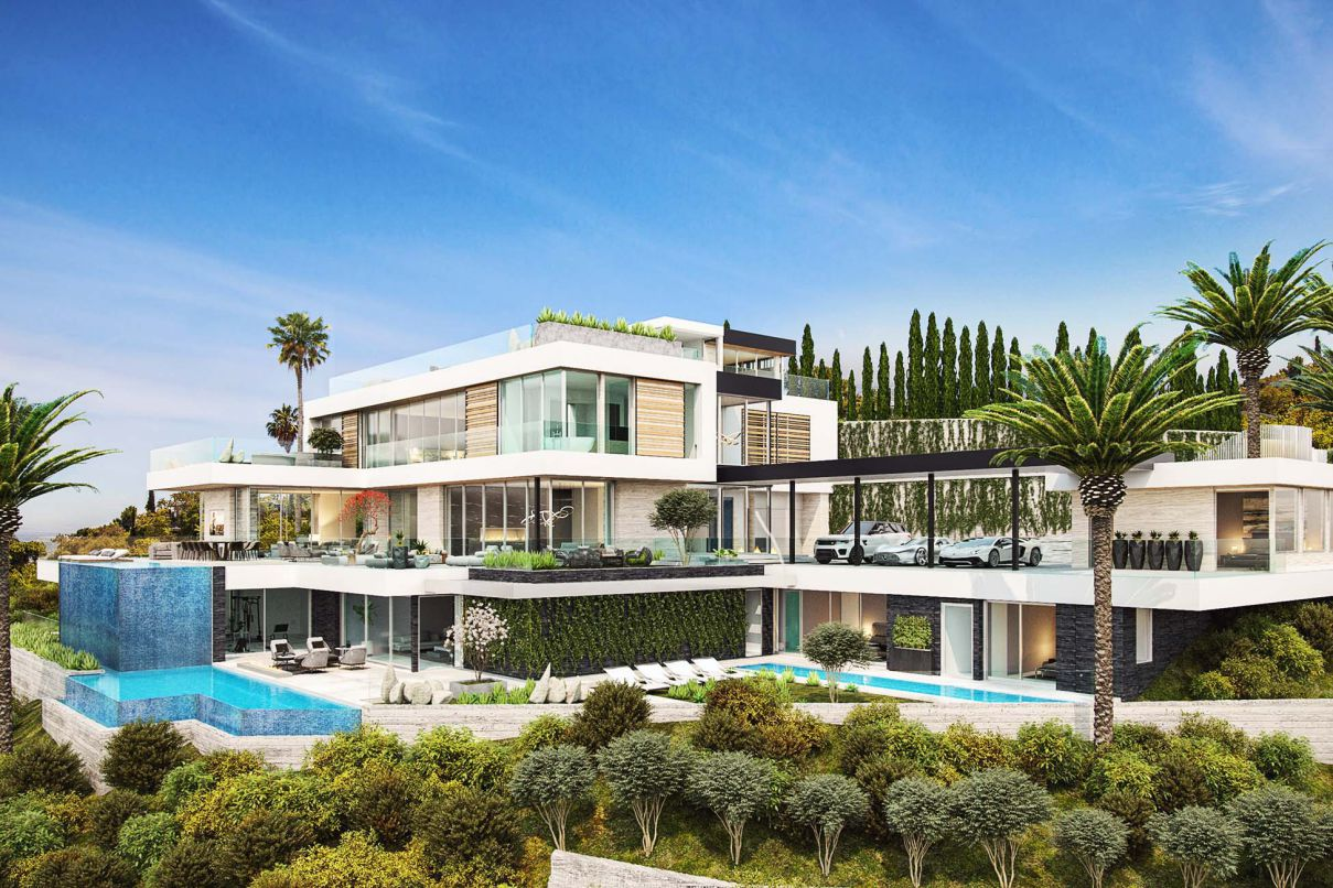 Glendower Modern Home Concept, Los Angeles by Bowery Design Group
