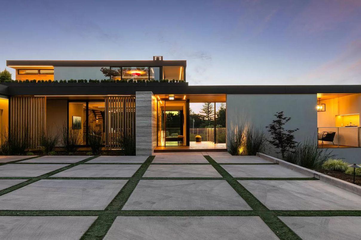 Greenwood Modern Masterpiece in Monte Sereno for Sale