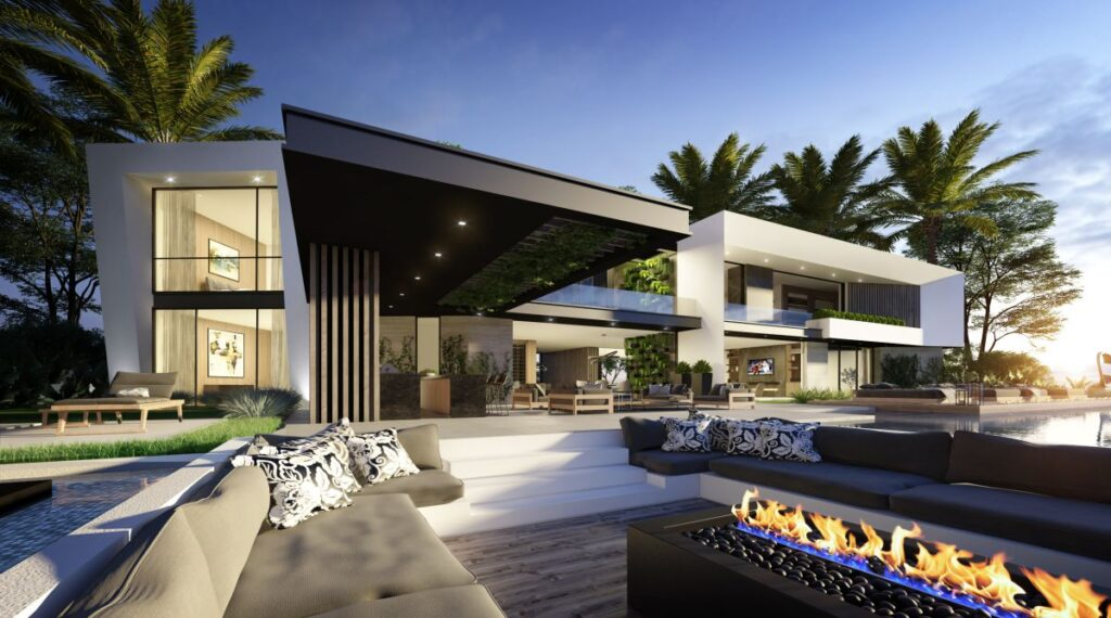 Hollywood Hills Modern Concept, Los Angeles by CLR Design Group