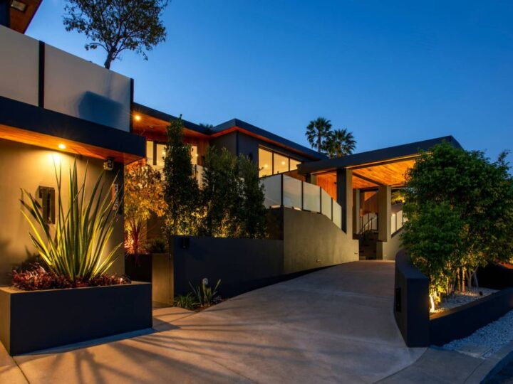 Incredible Ocean View Modern Compound in Pacific Palisades