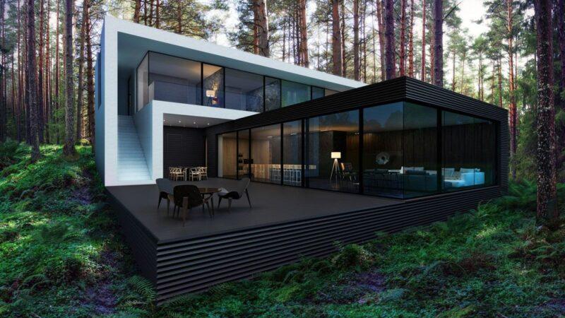 Kiev Modern Home Concept by Alexander Zhidkov Architect