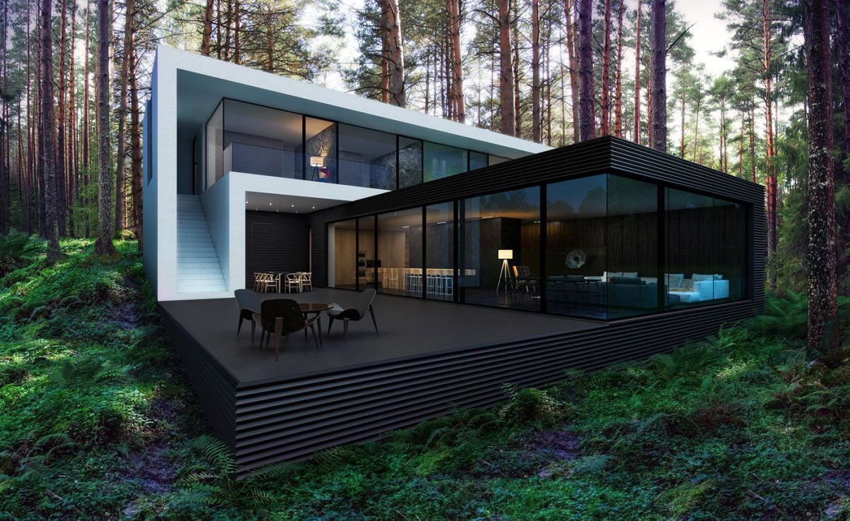 Kiev Modern Home Concept by Alexander Zhidkov Architect