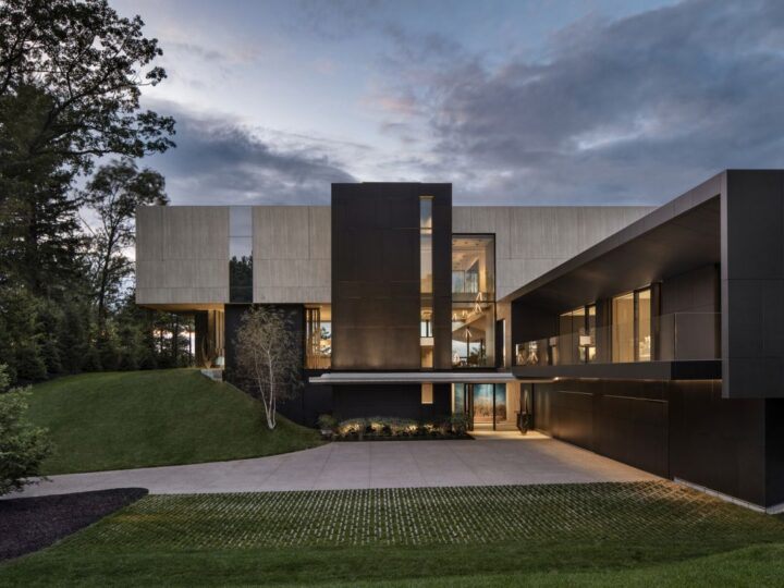 Lake Huron Modern Home in Ontario, Canada by SAOTA