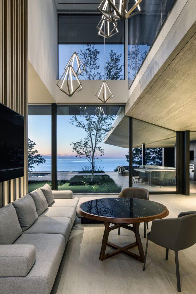 Lake Huron Modern Home in Ontario, Canada by SAOTA