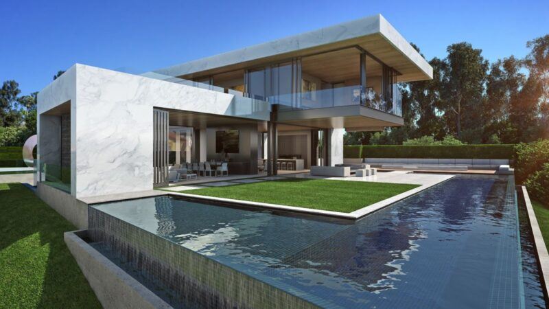 Laurel Way Residence Concept, Beverly Hills, LA by Mcclean Design