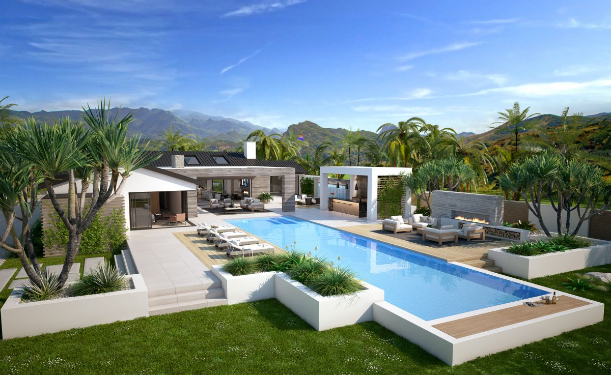 Malibu Contemporaty Residence Concept by CLR Design Group