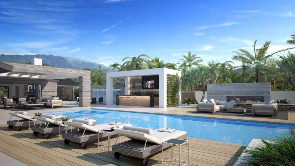 Malibu Contemporaty Residence Concept by CLR Design Group