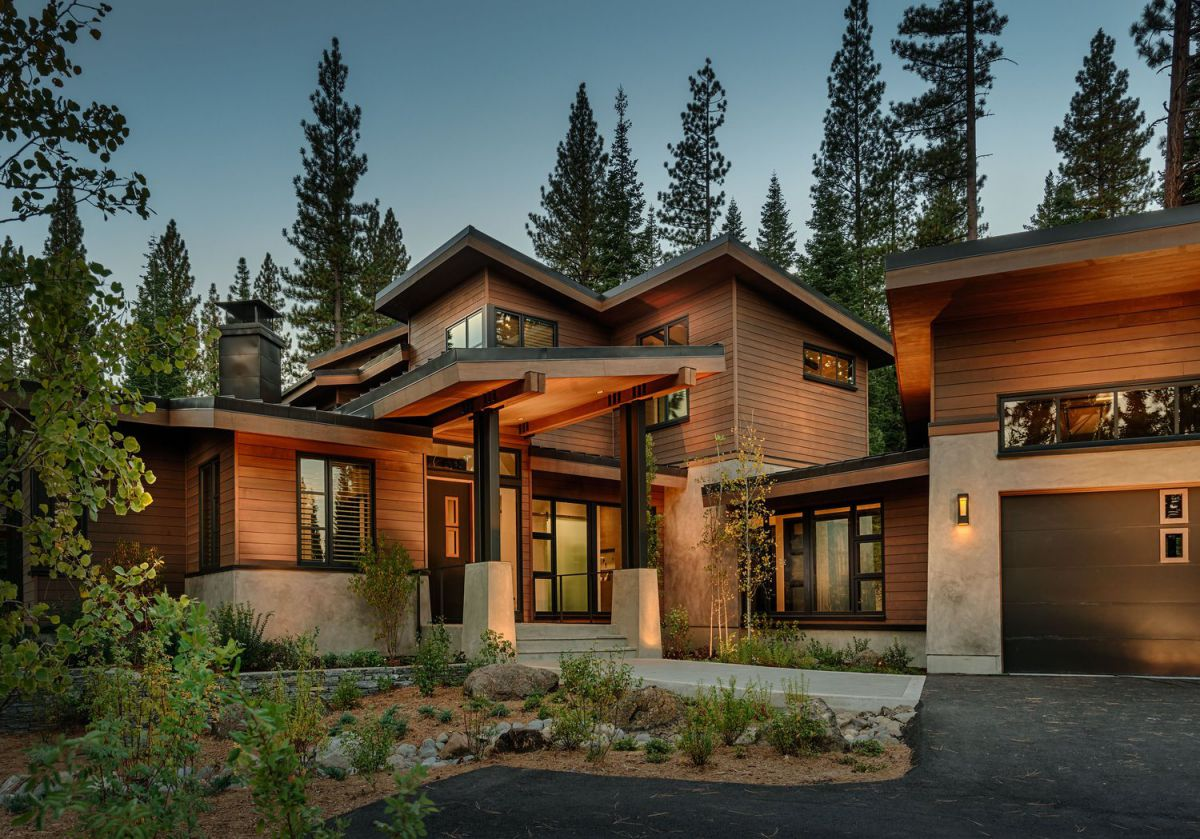 Martis Camp Residence 106 in Truckee, CA by Nicholas Sonder Architect