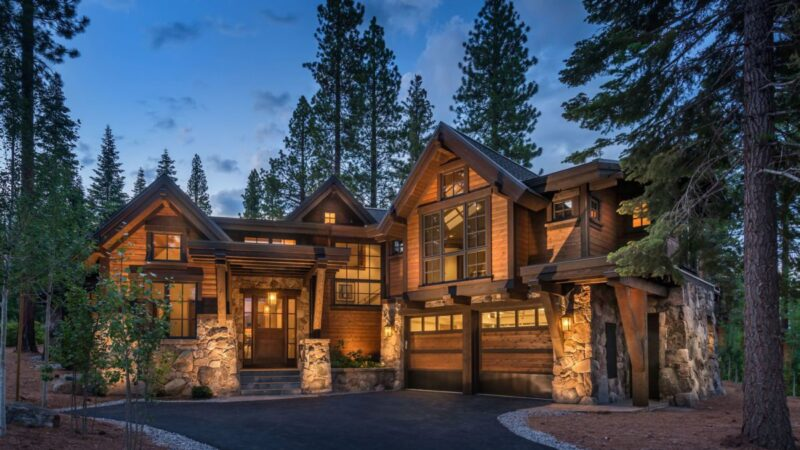 Martis Camp Residence 330 in Truckee, CA by Nicholas Sonder Architect