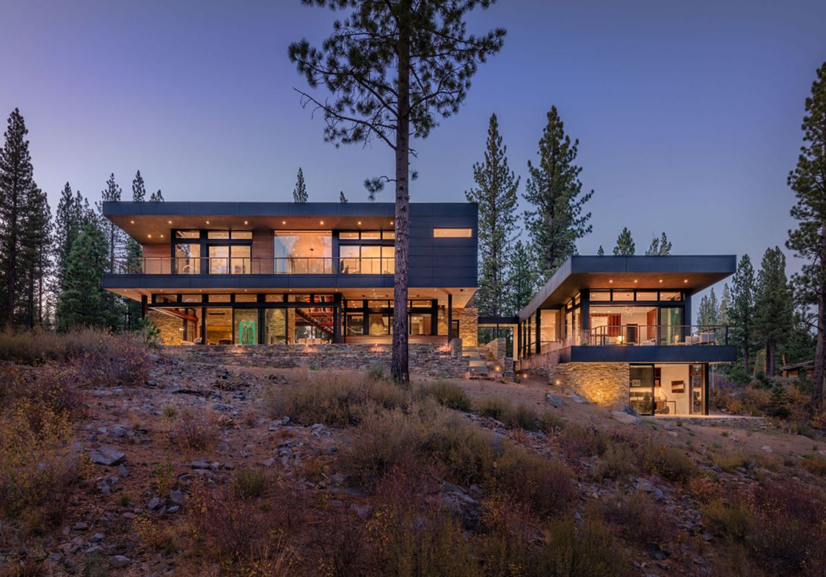 Martis Camp Residence 381 in Truckee by Marmol Radziner Architecture