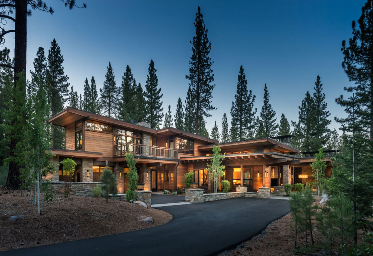 Martis Camp Residence 395 in Truckee, CA by Ryan Group Architects
