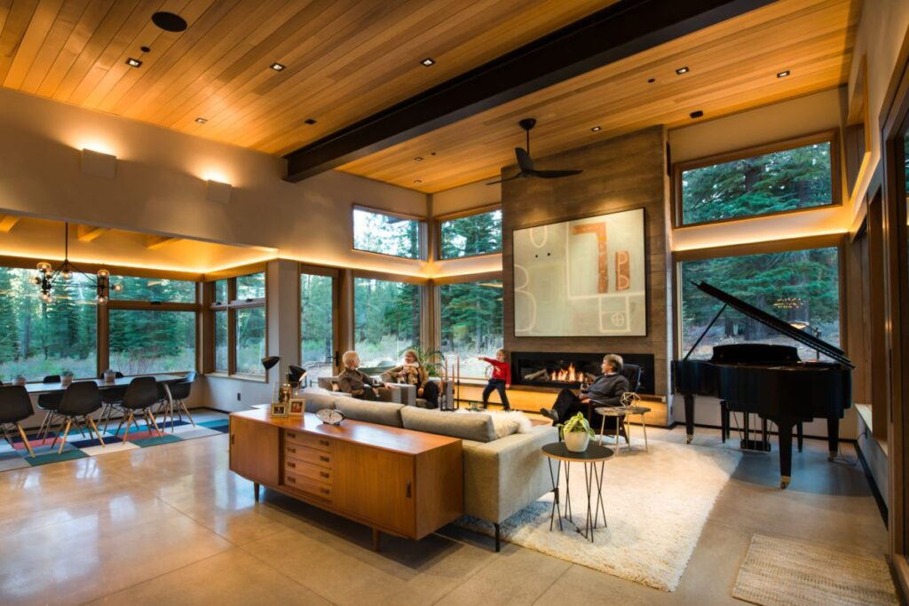 Martis Camp Residence 96 in Truckee, CA by Ryan Group Architects