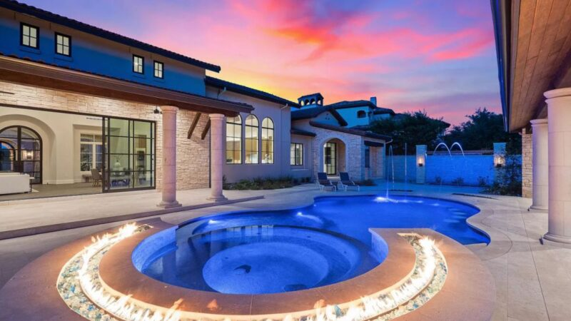 New European Estate in Austin for Sale with An Asking Price $4.7 Million