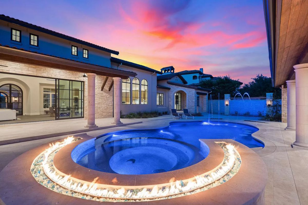 New European Estate in Austin for Sale